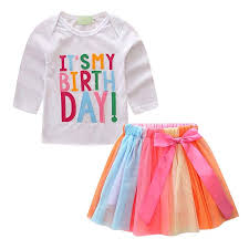 First Birthday Baby Girl Floral one Clothes for ... - Amazon.com