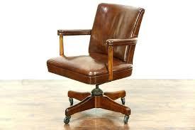 antique office chair parts. Desk Chair Swivel Parts Antique Oak Vintage Leather Office Wooden E