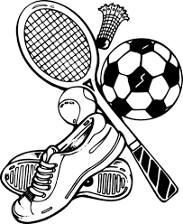 Coloring Pages Free Coloring Pages Of Sports Equipment Sports