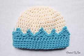 Crochet Crown Pattern Best Crown Hat Crochet Pattern Charmed By Ewe