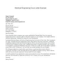 Sample Engineering Internship Cover Letter Engineering Summer