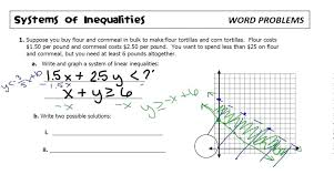 solve and graph inequalities worksheet pdf worksheets full size systems design graphing linear best linear inequalities in two variables