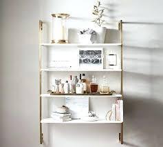 white wall bookshelf mounted shelves pottery barn real with regard to prepare 7 marble shelf uk marble wall mounted shelf