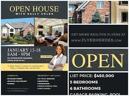 Realtor Open House Sign In Sheet Template Brochure Flyer Free