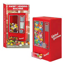 Sweets Vending Machine Enchanting Amazon GLOBAL GIZMOS DESKTOP SWEET VENDING MACHINE Sports