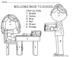 printable back to school coloring page free pdf at