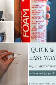 how to patch a hole in drywall my