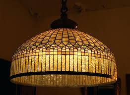 stained glass chandelier antique canada