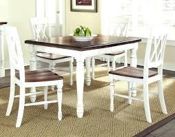 white farm table. Farm Dining Table Set White Farmhouse And Chairs Black -