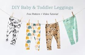 Baby Leggings Pattern Gorgeous Knit Baby Leggings Tutorial Spoonflower Blog
