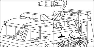 Small Picture Awesome Coloring Pages Fire Truck Images New Printable Coloring