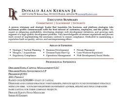 executive summary ...