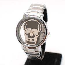aliexpress mobile global online shopping for apparel phones silver cutout transparent skull male watch student table quartz mens watch