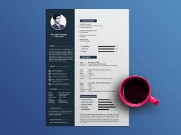 Free Cool Resume Template By Julian Ma Dribbble Cool Cool Resume