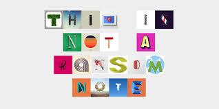 ransom letter generator this instagram font generator creates the perfect valentines love