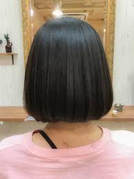 韓国ヘアスタイルオルチャン風のタンバルモリに縮毛矯正をやらせて