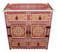 cheap moroccan furniture. Hand Painted Wooden Cabinet - HP-CA038 Cheap Moroccan Furniture