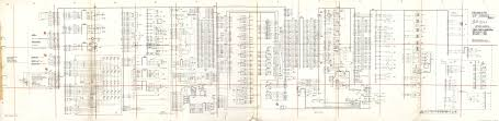 volvo service bulletin  wiring diagram 1193990 p01 for b10m mk i from chassis no 4854 through 8029