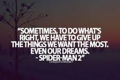 Spiderman Love Quotes Gorgeous 48 SpiderMan Quotes QuotePrism