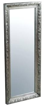 Beautiful Modern Tall Wall Mirror With Black Wooden Frame Tall Wall