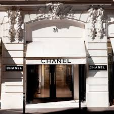 chanel. coco chanel opened her store on rue cambon in paris 1910. n