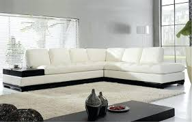 modern white sectional. White Sectional Furniture Leather Sofa Sofas Contemporary Vig T117 Modern R
