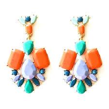 multi colored crystal chandelier alternative views