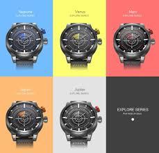 weide lucky wrist watch
