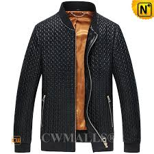 CWMALLS® Men's Quilted Leather Jacket CW806010 & Men Quilted Leather Jacket CW806010 www.cwmalls.com Adamdwight.com