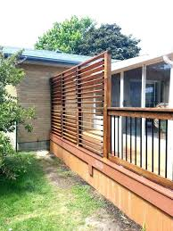 patio privacy wall large size of screens on deck from neighbors outdoor screen building a pr