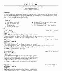 Auto Mechanic Resume Templates Diesel Mechanic Resume Example Mechanic Resume Samples Automotive
