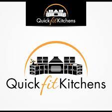 business logo design for quickfitkitchens by tectutive design 3387885 rh designcrowd com home appliances logo ideas