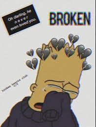 iPhone Wallpaper Broken Heart Character ...