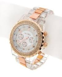 michael kors watches google search buyrrand rose gold tone clear acrylic clear rhinestone lead nickel compliant deployant clasp unisex watch