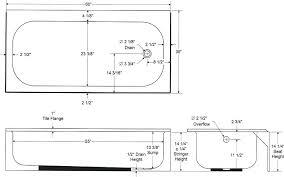 bathroom door size. Standard Bathtub Width Of Retail Industries Size Bathroom Door Stall D
