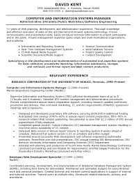 Computer Information Systems Manager Resume