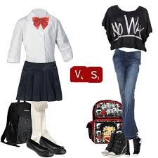 debate on why we don t have to wear school uniforms shiver