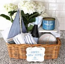 image of housewarming gift wicker basket