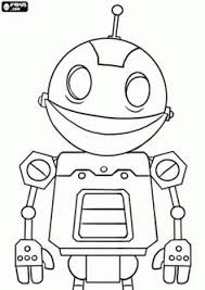 Small Picture Rob The Robot Coloring Pages Craft Ideas Pinterest Robot