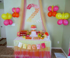 Small Picture Birthday Party Decorations In Home 4387