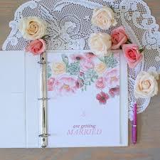 Wedding Planner Printable With Floral Design Wedding Planning