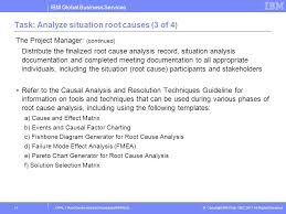 Events And Causal Factors Chart Template Root Cause Analysis Procedure Imsp525 Training Ppt Video