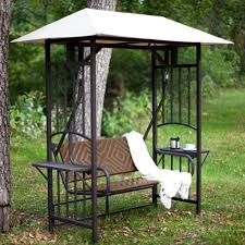 glider swing seat for outdoor 2 seat metal glider swing seat accessory with plants view