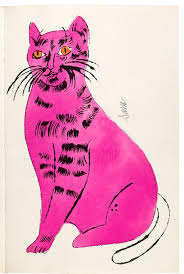 andy warhol 25 cats name sam and one blue 1954 printed by semour berlin written by charles lisanby bound artist s book with hand coloring