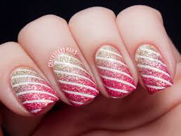 Stripe nail art designs - how you can do it at home. Pictures ...