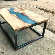 round outdoor coffee table. Resin Coffee Table River By Revive Joinery Round Outdoor  Round Outdoor Coffee Table