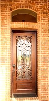 Couto Homes Iron Entry Door With Transom Window Above Exteriors - Exterior transom window