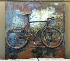 bicycle wall art canvas bicycle wall art metal three dimensional wall art bicycle wall art french bicycle wall art  on bike wall art metal with bicycle wall art canvas bike wall art like this item motorcycle wall