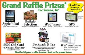 things to raffle off at a fundraiser raffle ideas