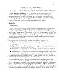 How To Write Grant Proposal Custom Paper Sample